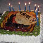 ogni evento ha la sua torta di compleanno