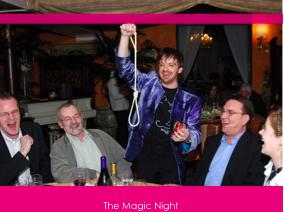 Intrattenimento & Svago con la Magia a cena, a partire da  : 30€