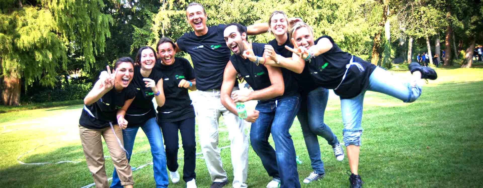 eventi aziendali milano offre servizi di team building