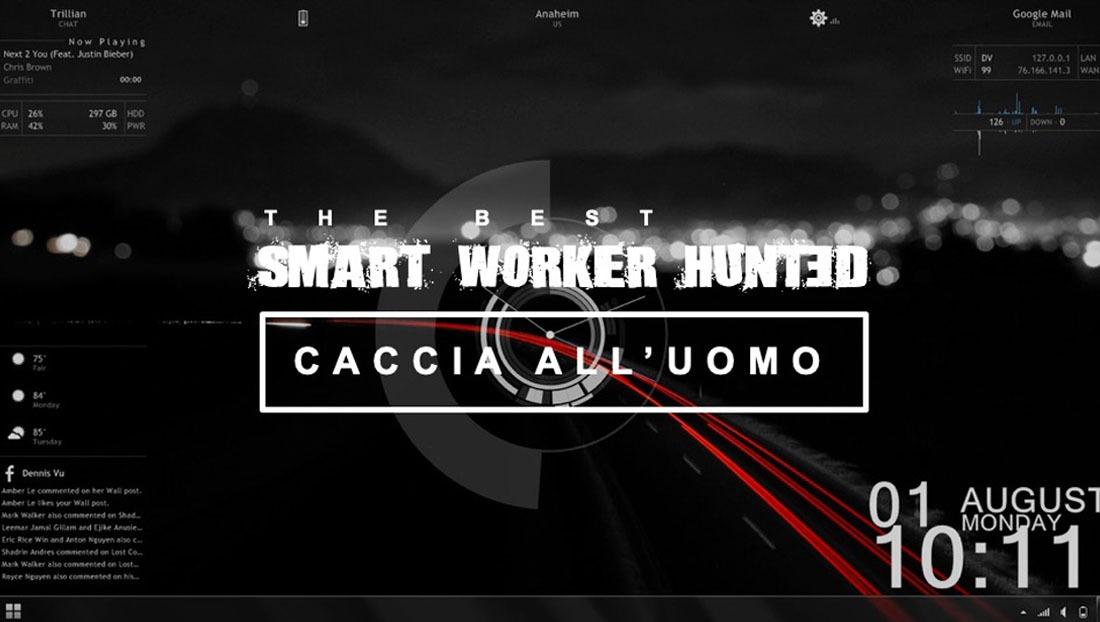 escape smart workers hunted, Eventi Aziendali Milano